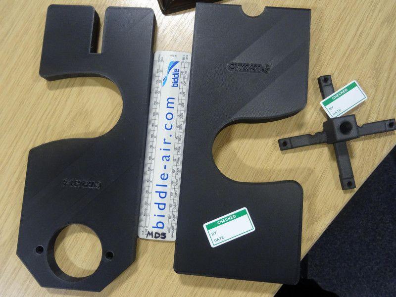 3D tištěné výrobní přípravky