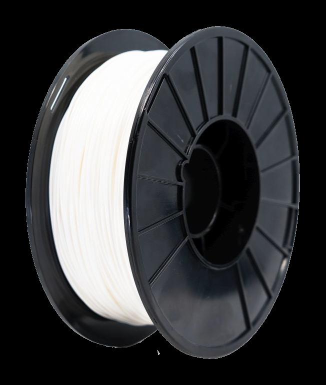 Nylon White materiál pro 3D tisk